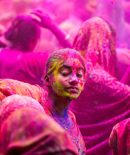 Holi Festival Pink India Holi Images Holi Festival Of Colours Happy Holi