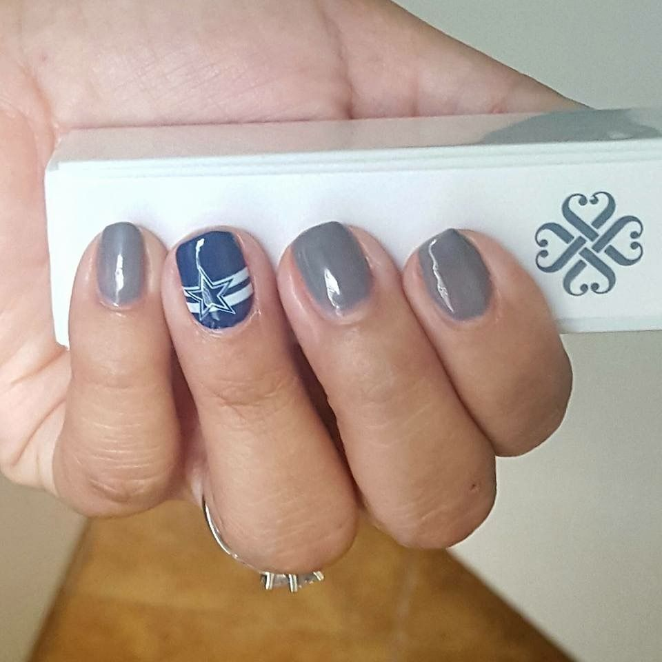 Where are my Dallas Cowboys fans? Check out this gorgeous gray and ...