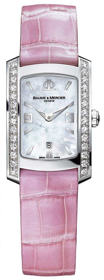 baume mercier hampton milleis ladies watch 8513 quartz on watchman on the wall calvin id=83786