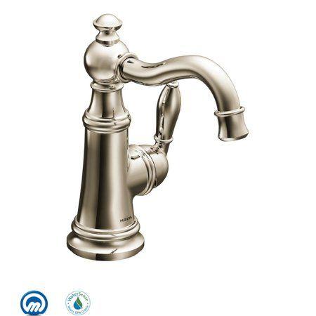 Moen S42107nl Weymouth Single Hole Bathroom Faucet Available In