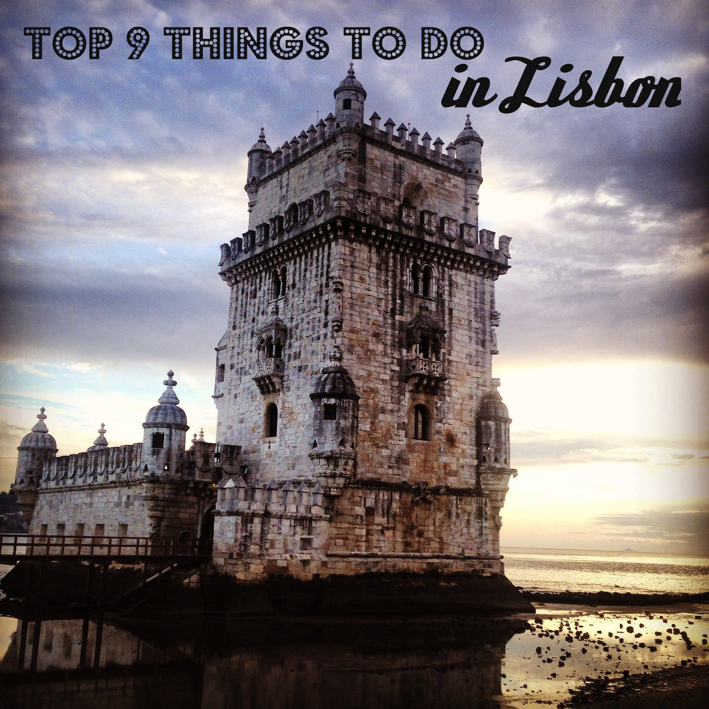 Best Places Travel Portugal: Top 9 Things To Do In Lisbon Portugal #travel