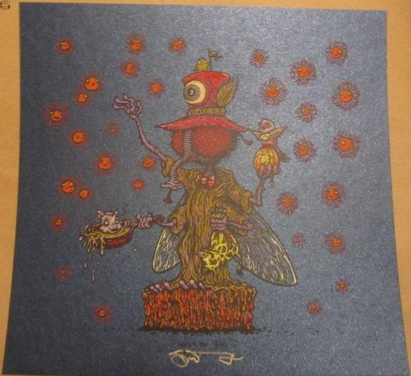 "Marq Spusta - ""Tweek the Bug"" Blue Shimmer Variant - 2012"