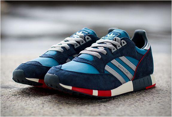 Adidas Boston Super Sneakers Men Fashion Sneakers Blue Sneakers