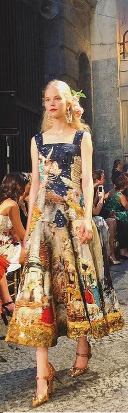 Dolce & Gabbana - Alta Moda 2016