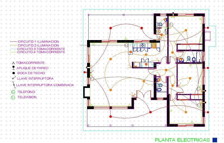 Plano electrico de b squeda instalaciones electricas for Instalacion electrica jardin