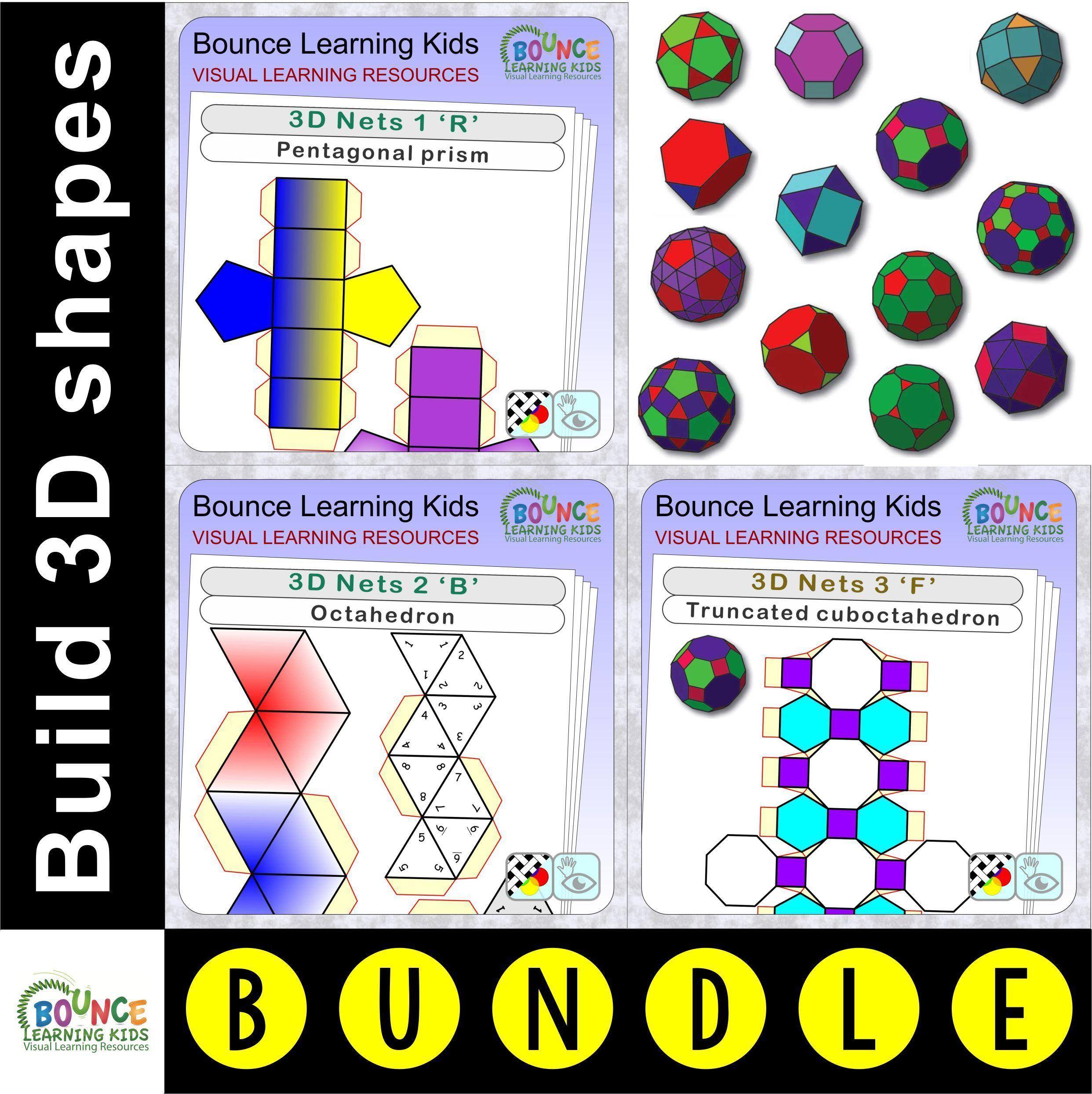 3d Nets Bundle 48 Distance Learning Hand Eye Coordination