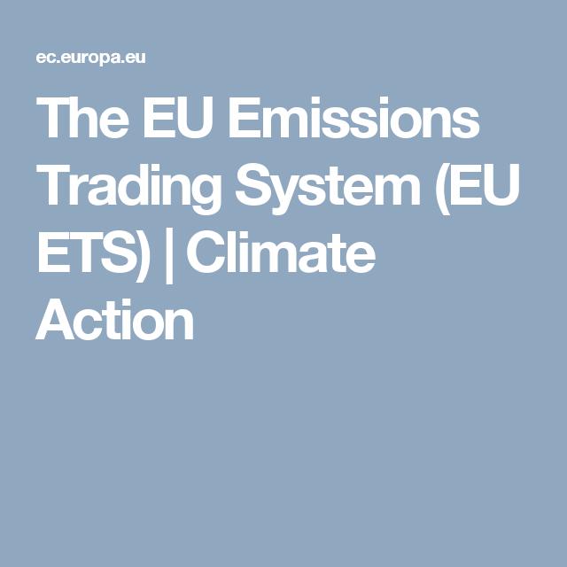 Emission trading system (eu ets)