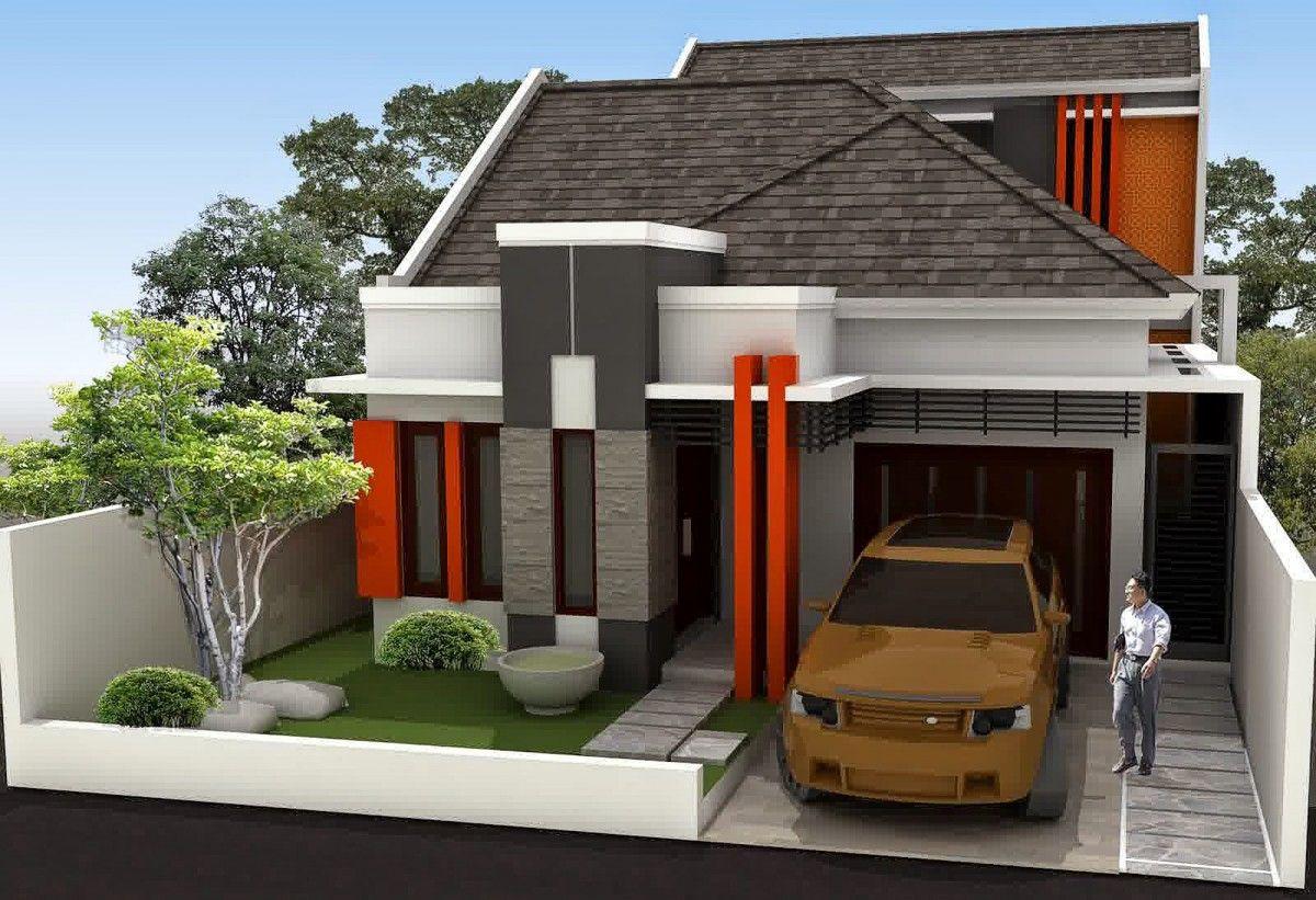 Gambar Desain Rumah Minimalis Type 54 Sederhana Lensa Rumah