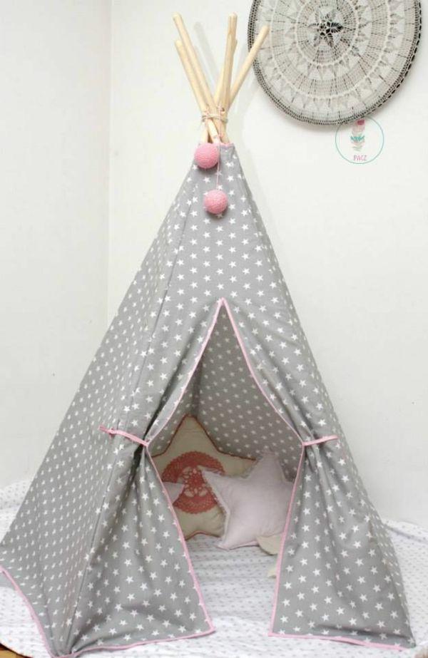 kinderzimmer deko selber machen ideen rund ums haus pinterest nursery room and tipi. Black Bedroom Furniture Sets. Home Design Ideas