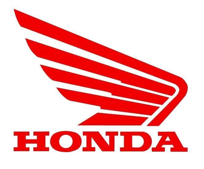 Honda Wing Logo Emblem Motorcycle Vinyl Decal Sticker 55 X 45