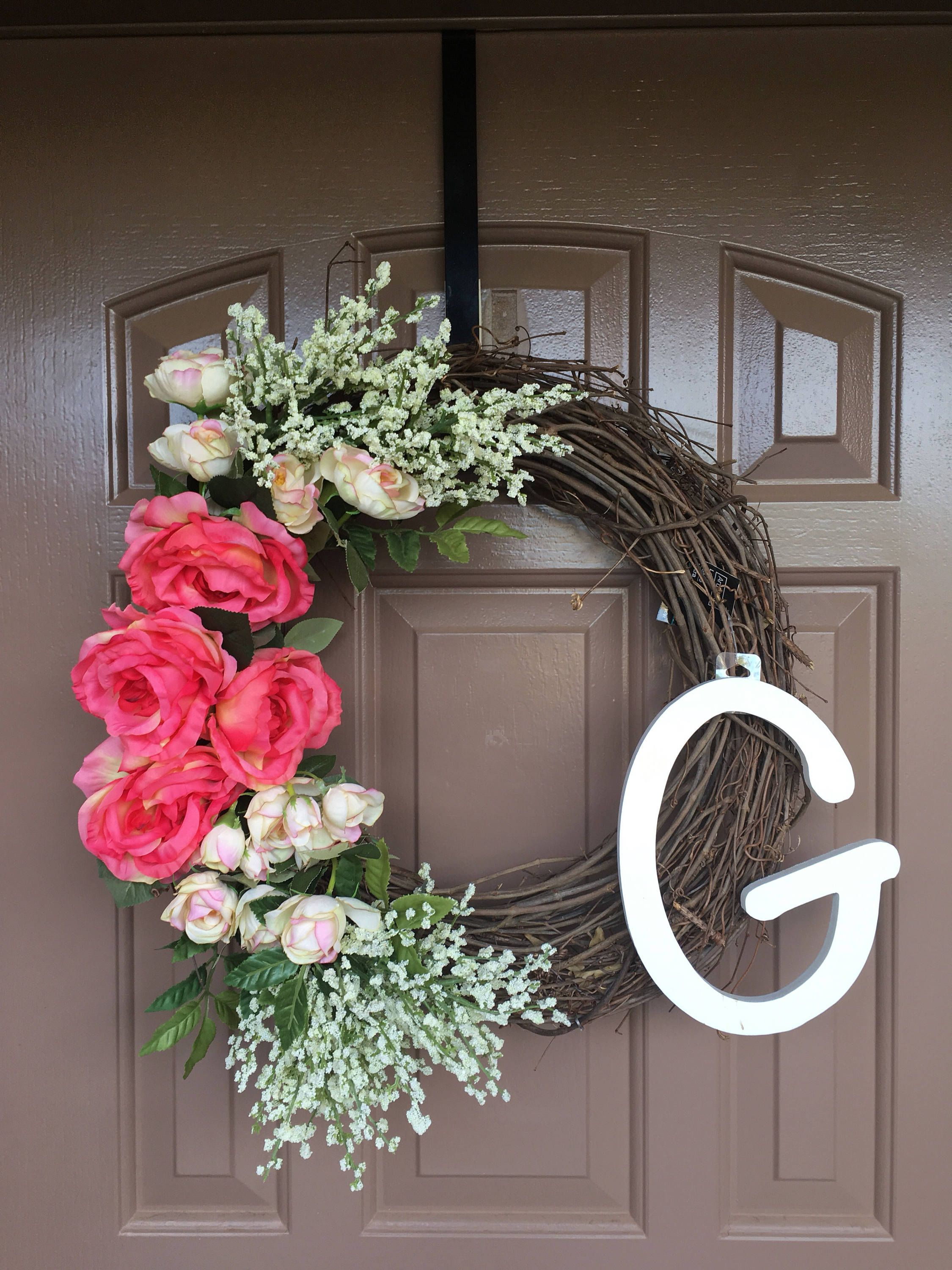Wreaths With Letter
