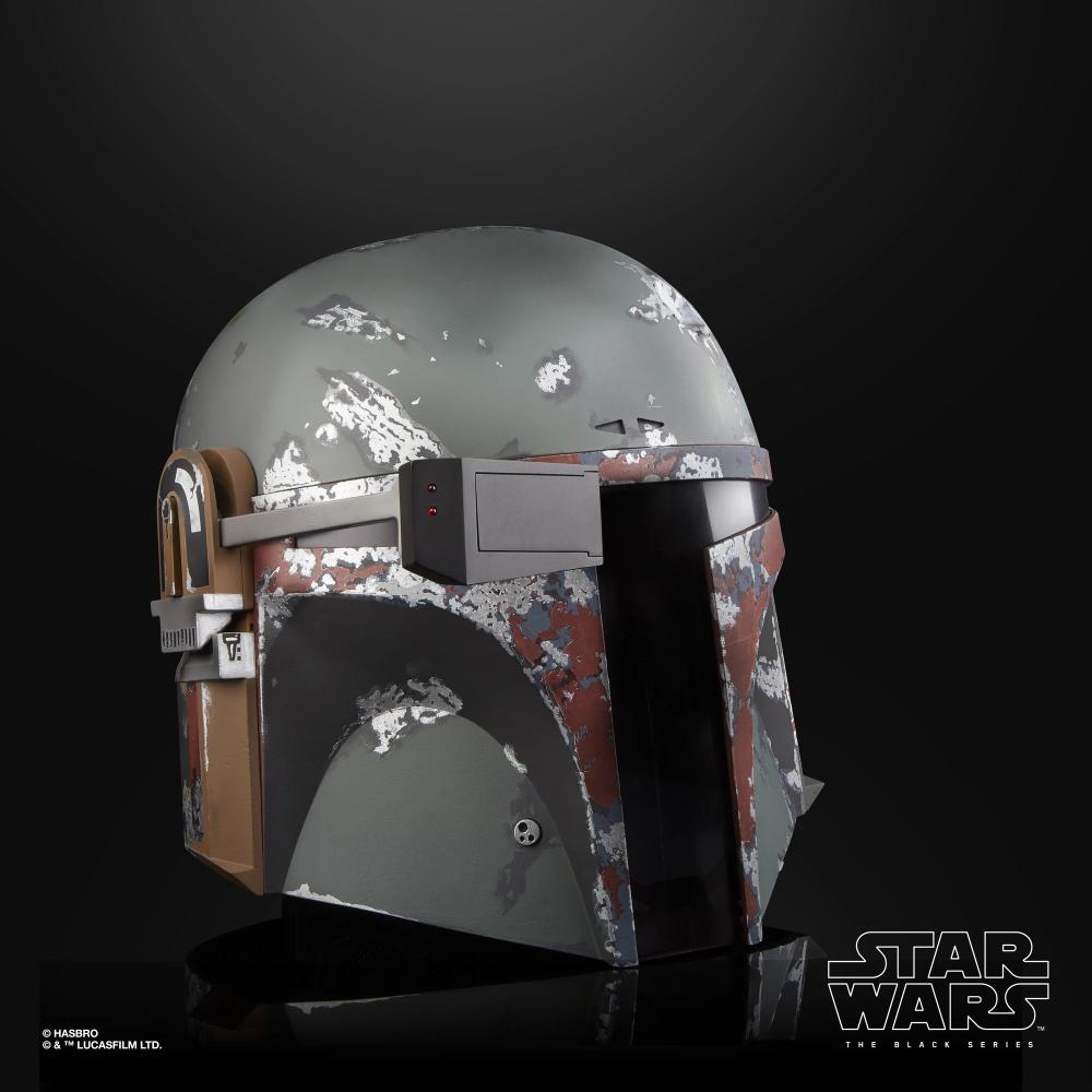 Star Wars The Black Series Boba Fett Electronic Helmet Star Wars Black Series Boba Fett Helmet Empire Strike