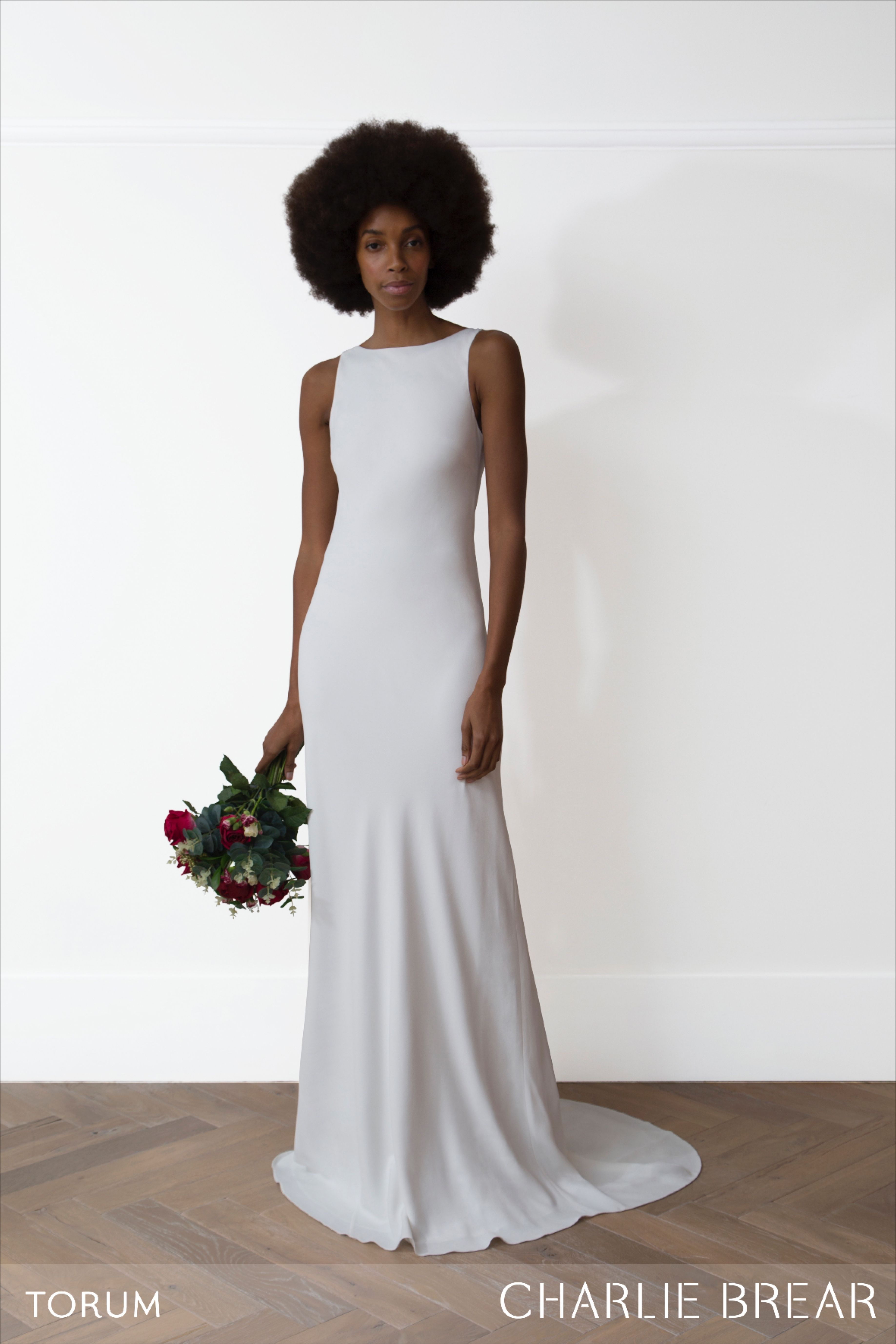 Charlie Brear Torum Dress At The White Closet Manchester Charlie Brear Wedding Dress Column Wedding Dress Bridal Dresses Online [ 5510 x 3674 Pixel ]