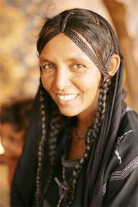 Braids in all cultures. She is beautiful.