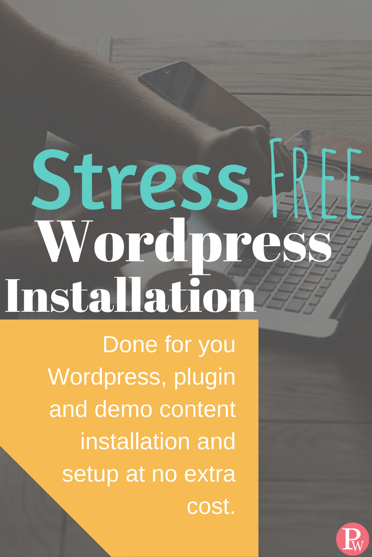 Wordpress installation and setup service for new bloggers. Free ...