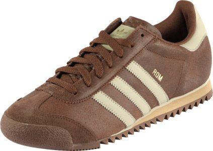 Adidas Rom Schuhe braun gold   Sneakers, Adidas, Adidas sneakers
