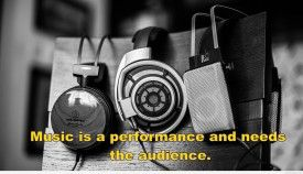 Awesome Music quote with background hd