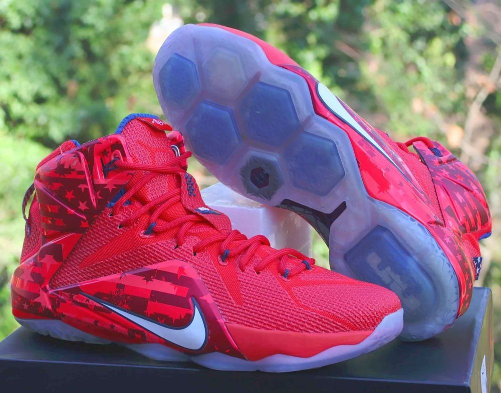 Nike LeBron XII 12 Independence Day 4th
