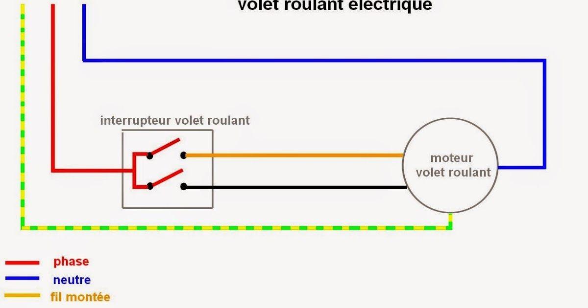 Schéma electrique volet roulant - Norme d\u0027installation d\u0027un volet