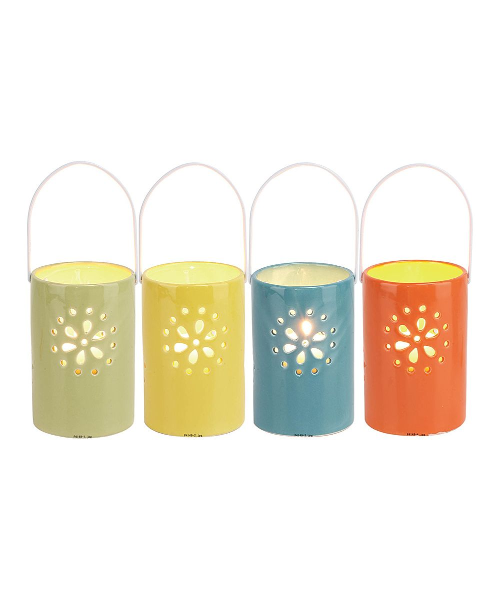 Bright Spring Lantern Set