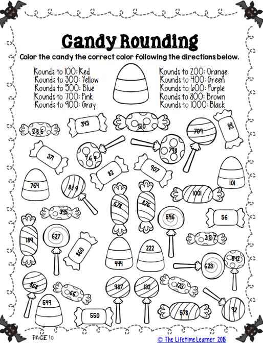 Halloween Math 3rd Grade Halloween math, Halloween