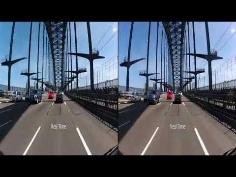 Gopro 3d Hero2 120 Fps Vs Real Time Comparison Gopro 3d Gopro Fps
