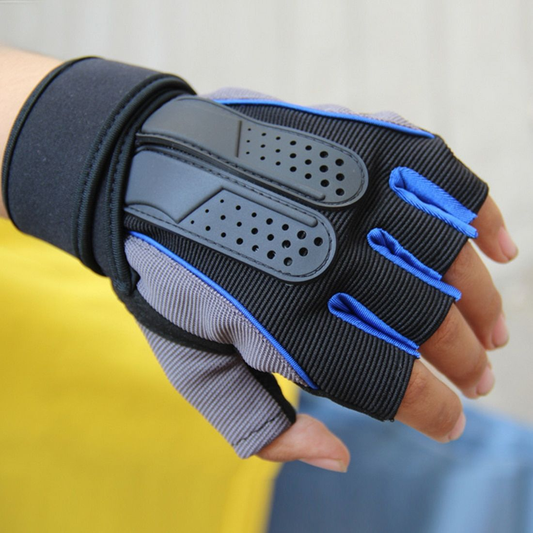 Gym Fitness Gloves Protective Crossfits Sports Weight Lifting Workout Guantes