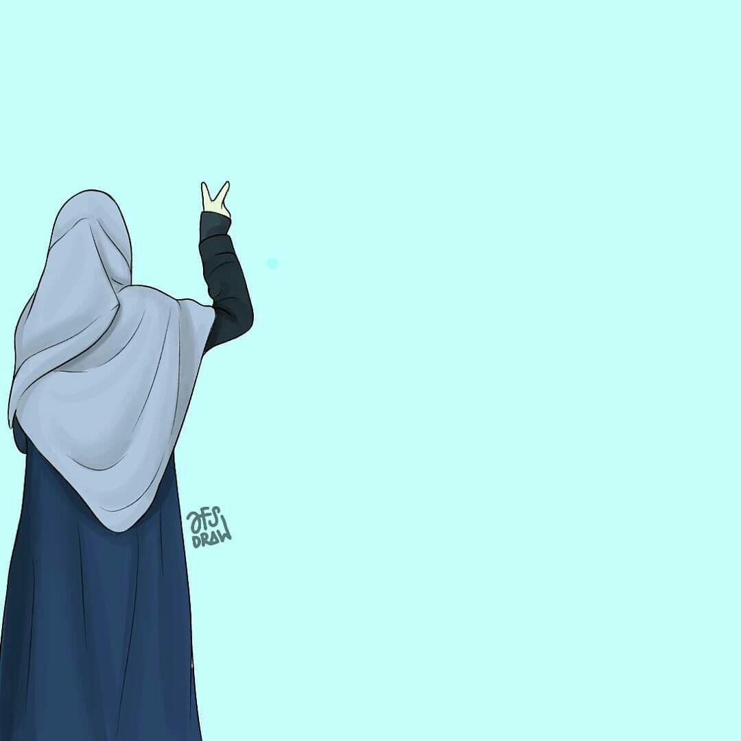 Gambar Muslim Anime Oleh س Kartun Gambar Seni Islamis