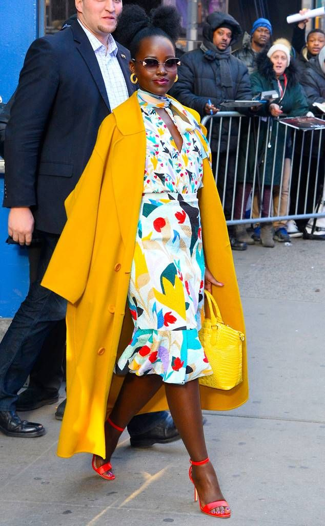 Lupita Nyong'o, l'icône africaine haute en couleur