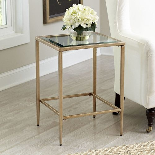 Found It At Wayfair Nash Square Side Table Living Room Ideas - Wayfair glass side table