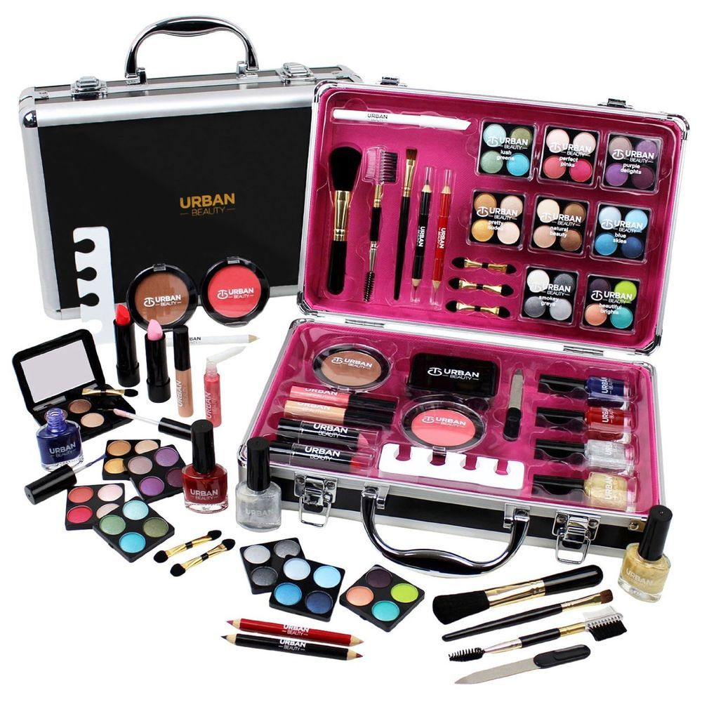 Professional Vanity Case Cosmetic Make Up Urban Beauty Box Travel Carry Gift 57 Ebay Urban Beauty Makeup Kit For Kids Beauty Box Gift