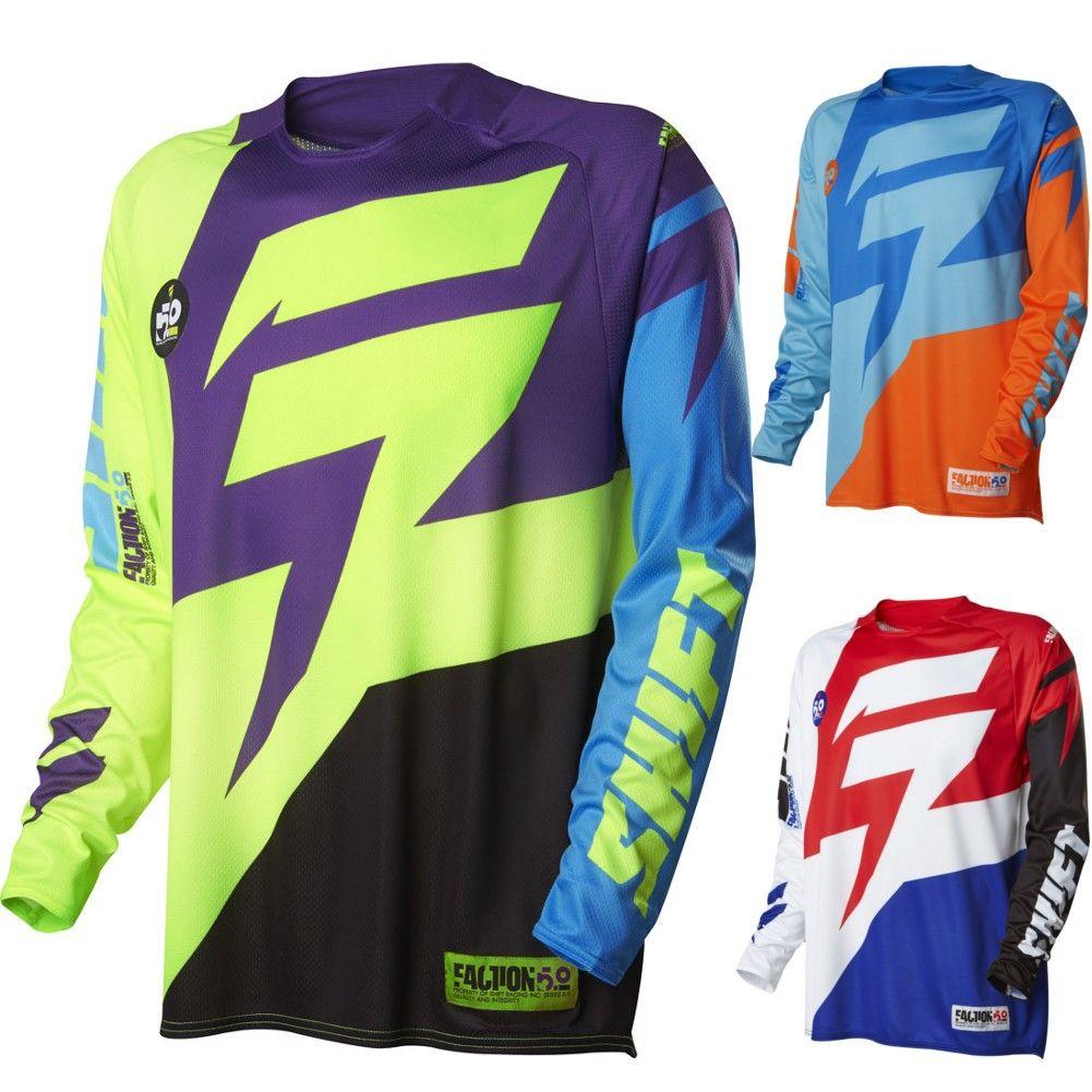 Dp Shift Mx Faction Mens Motocross Jerseys