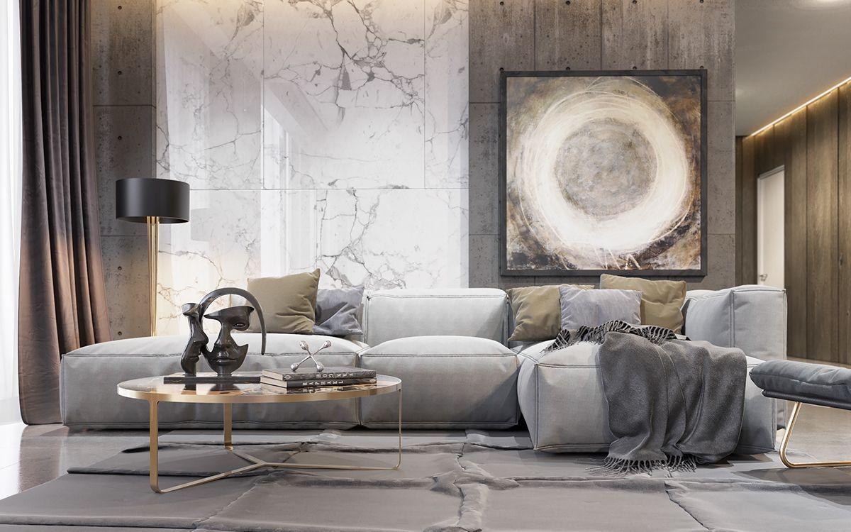 Middle East Interiors And Mid Century Modern Lighting Ideas From Delightfull Http Www Delightfull Eu Luxury Living Room House Interior Living Room Interior Celebrity living rooms decor