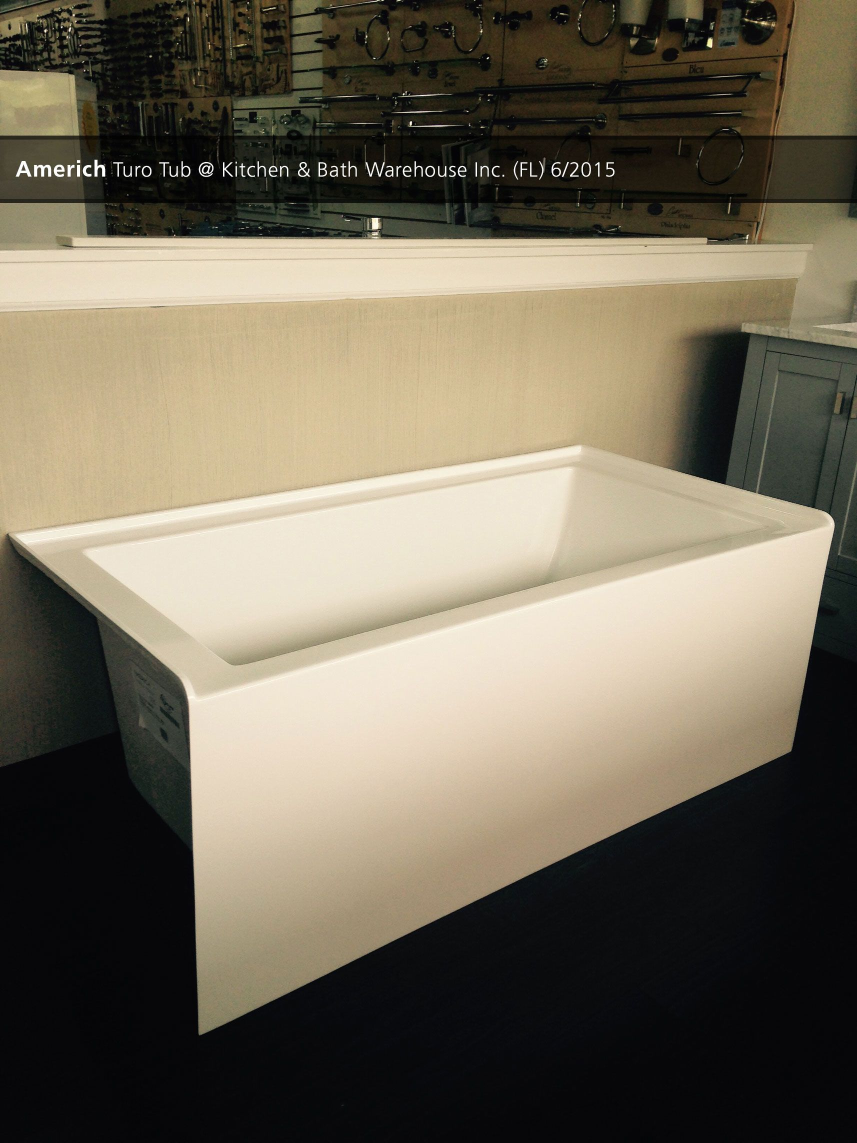 Americh Turo Tub Kitchen Bath Warehouse Inc Fl 6 2015 Showroom Displays Bathroom