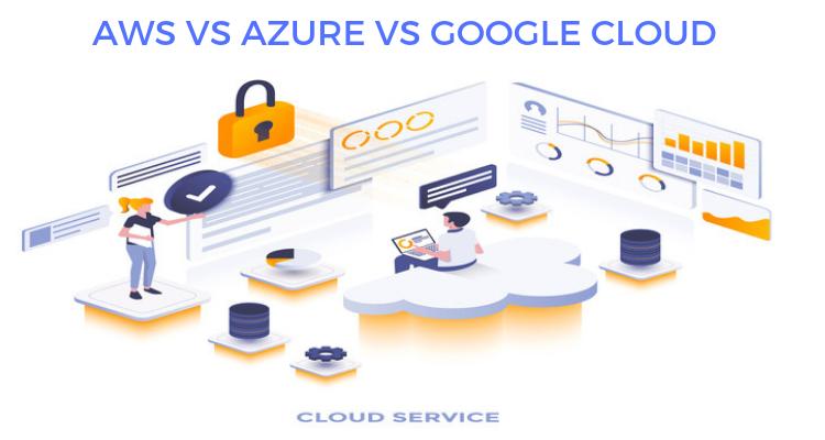 AWS VS Azure VS Google Cloud Cloud computing services