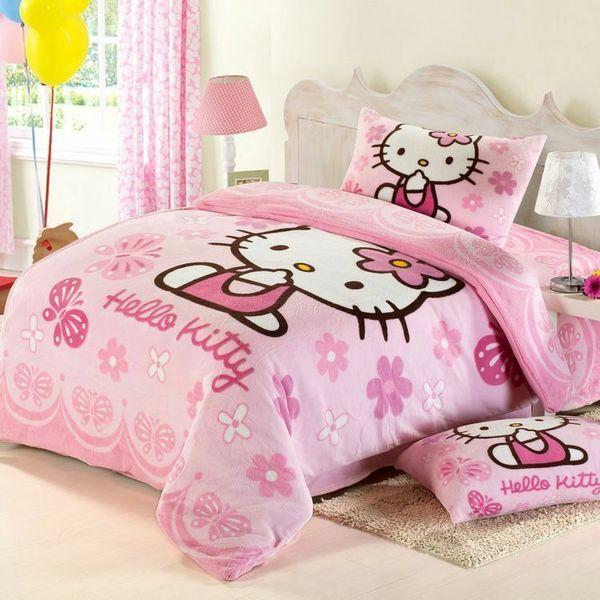 Hello Kitty Bed Set