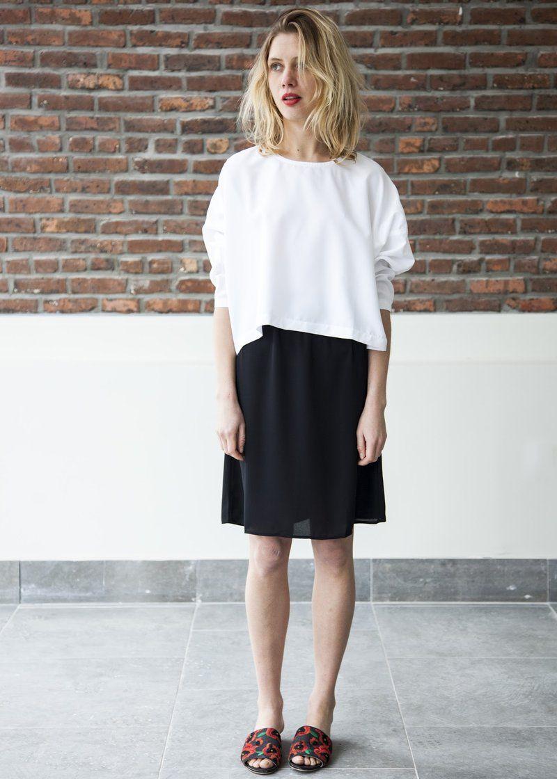 236c81d3f6c6 Good slip skirt (black) | w a r d r o b e | Slip skirts, Mimu maxi, Tops