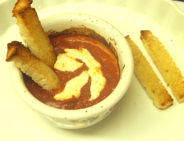 Baked Mozzarella and Tomato Dip