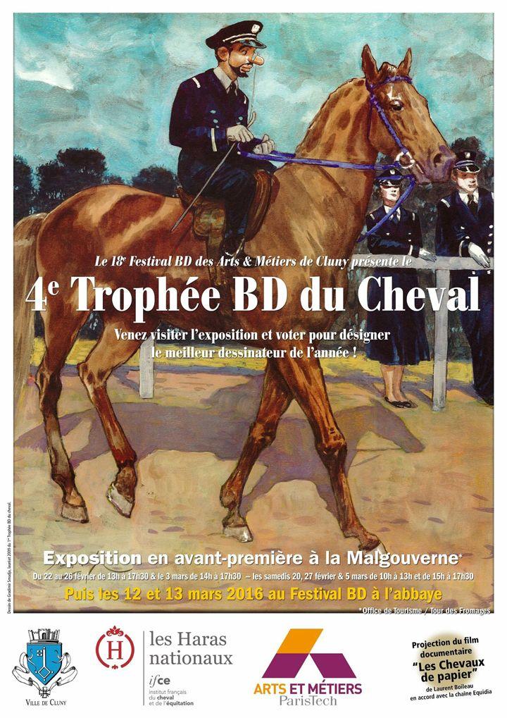 4e trophée BD du cheval à Cluny du 20 février au 13 mars : http://clun.yt/1R19QLO