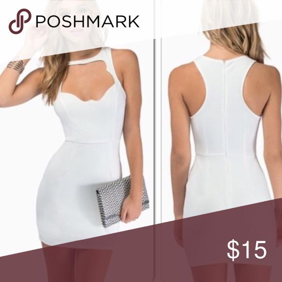 Tobi bodycon dress Size small / medium. Super cute & very flattering. Zipper in back. Tobi Dresses Mini