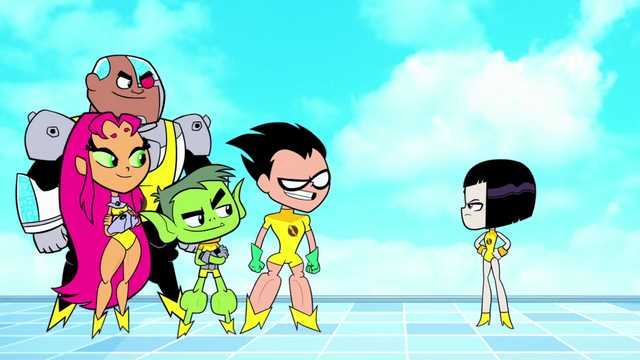 Pin On Teen Titans Go-6001