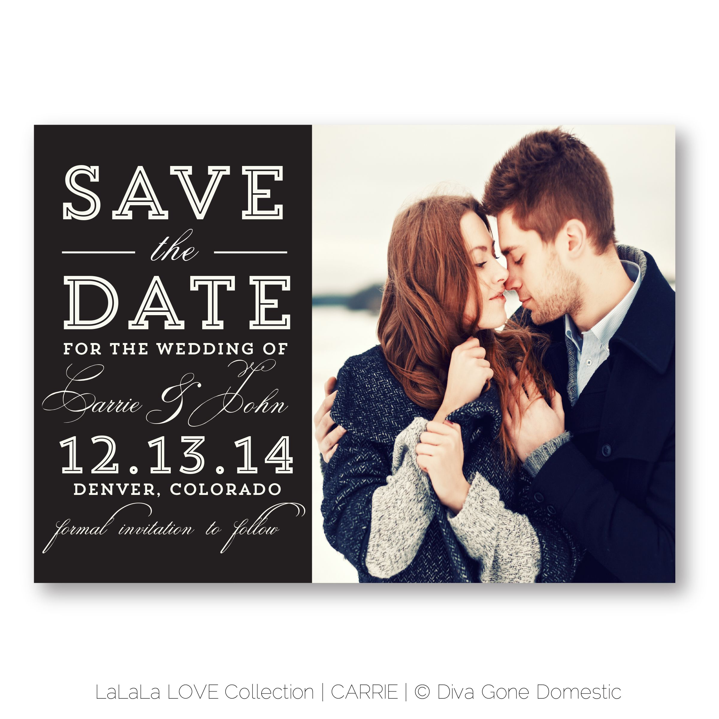 Unique Save The Date Cards Postcards And Ideas By Dgd Invitations