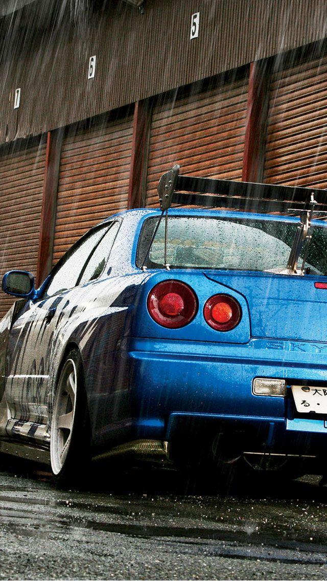Nissan Skyline GTR R34 iPhone5 wallpaper iphonewallpaper