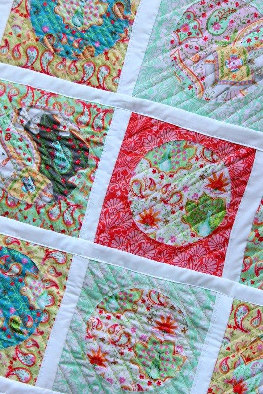 Reverse Applique Deco Foil Quilt Tutorial | www.thermoweb.com ... : how to applique quilt tutorial - Adamdwight.com