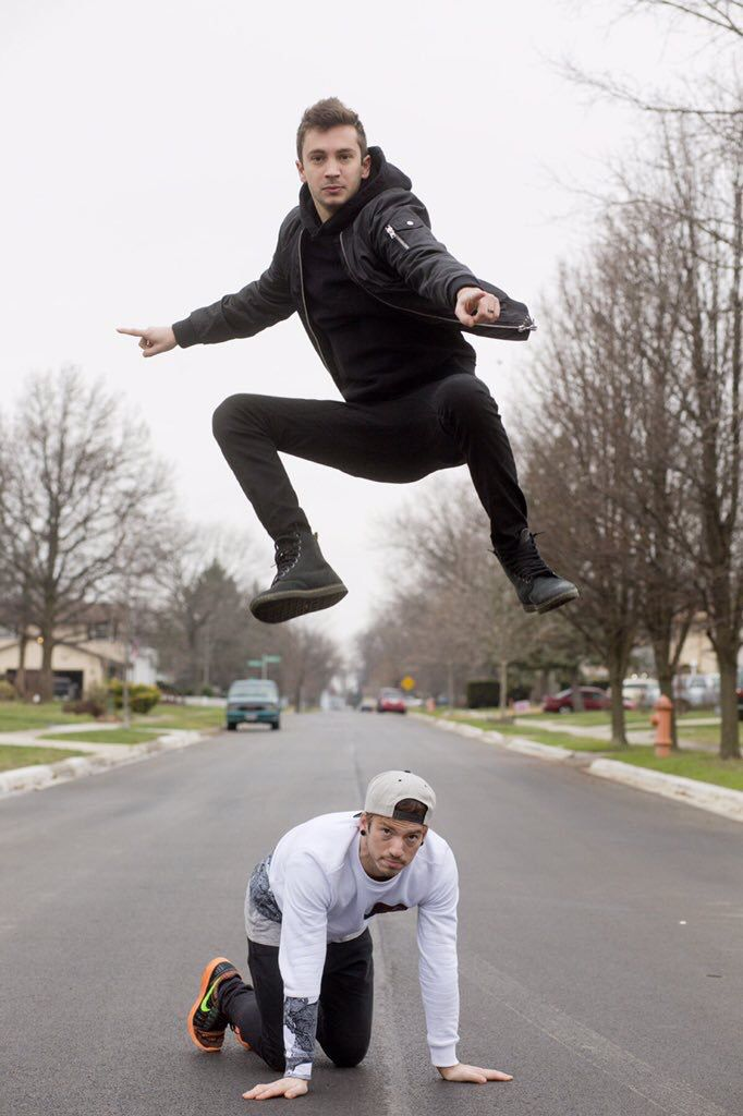 Tyler and Josh photoshoot for for rolling stone … Twenty