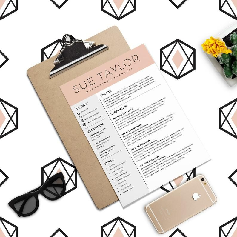 Marketing executive resume modern resume template cv