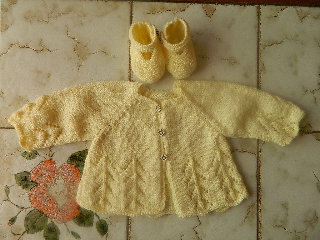 modele et explication de tricot