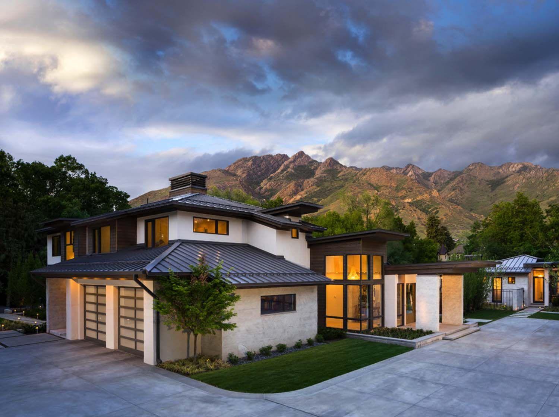 Modern Residence In Utah Showcases Exquisite Design