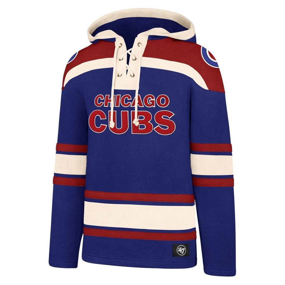 newest 51b40 0bf89 Chicago Cubs Superior Lacer Hoodie by '47® | New Arrivals ...
