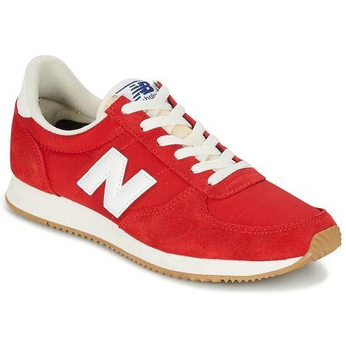 Topánky Nízke tenisky New Balance U220 červená 7d6b00e225